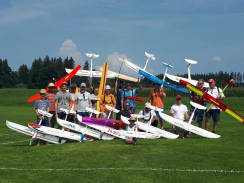 Wettbewerb F5J-Anfänger Werdenfels 25.08.19